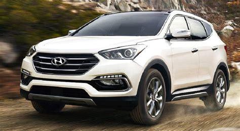 Hyundai Crv by 2019 Hyundai Santa Fe Vs Sport Accessories Vs Honda Crv