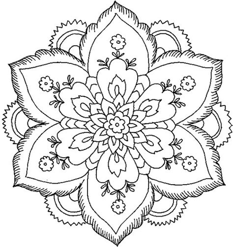 Free Printable Mandala Coloring Pages Image Number 31