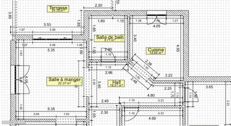 dessiner plan appartement 2d