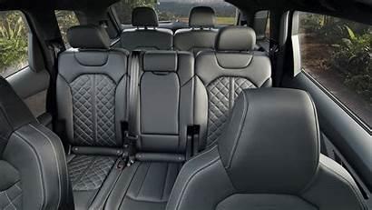 Q7 Audi Innenraum Stauraum