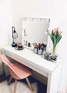 Ikea Hollywood Mirror With Lights Instagram Gt Kklaudia Es My New Dressingtable Ikea