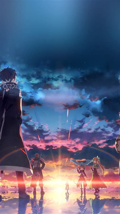 Iphone 6 Anime Wallpaper - wallpapers iphone 6 anime sao обои sword
