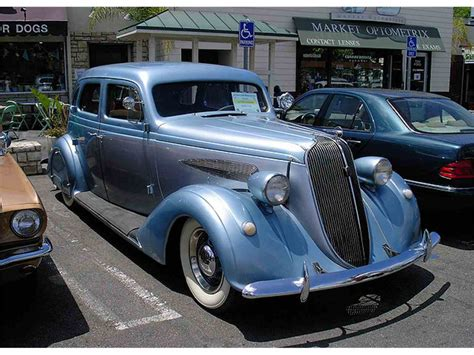 1936 Nash Ambassador For Sale