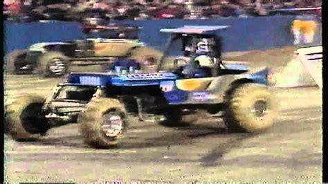 youtube monster trucks racing ushra mud monster truck racing super challenge 1990