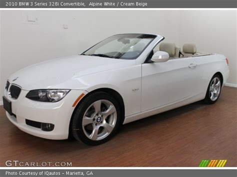 2010 Bmw 328i Convertible by Alpine White 2010 Bmw 3 Series 328i Convertible
