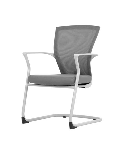 bestuhl white cantilever meeting room chair reality