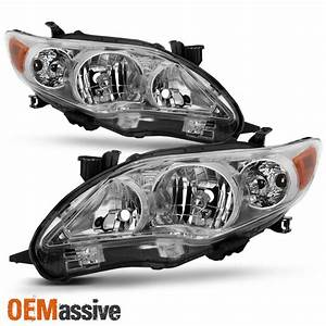 Fits 2011 2012 2013 Toyota Corolla Headlights Replacement