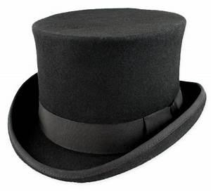 Deluxe John Bull Top Hat - Black