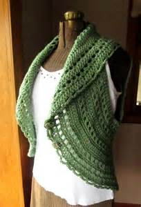 Crochet Circle Vest Shrug Free Pattern