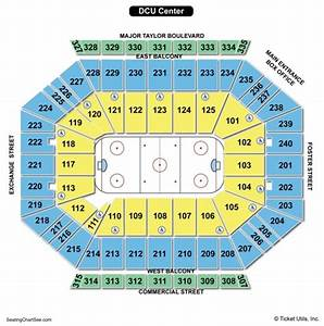 Dcu Center Seating Chart Dcu Center Seating Chart Seating Charts Tickets