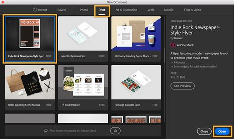Adobe Photoshop Brochure Templates by Start Designing With Adobe Stock Flyer Templates In