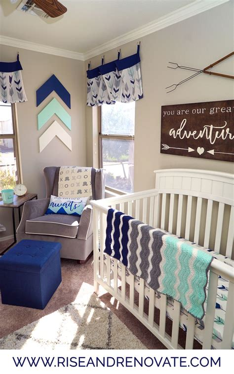 adventure nursery sneak peek woodland nursery boy baby