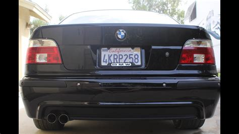 E39 Bmw 528i Quick Drive With Loud Exhaust