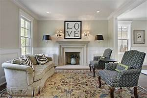 Timeless - Eclectic - Living Room - chicago - by Mandy Brown
