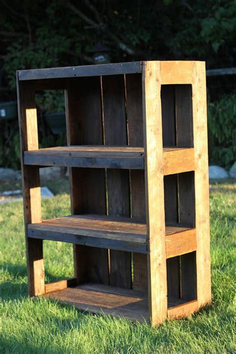 detailed pallet bookshelf plans  tutorials guide