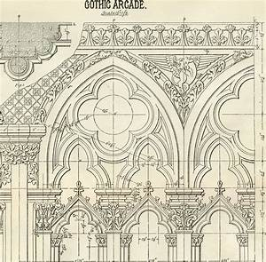 Architecture Printable Gothic Arches - Diagram
