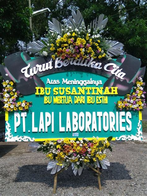 papan karangan bunga ucapan duka cita jawa tengah  jogja karangan bunga magelang