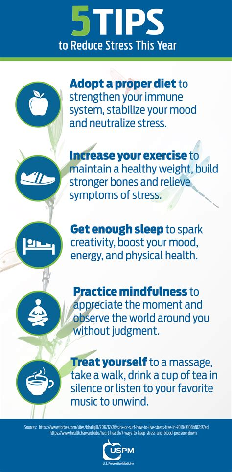 5 Tips To Reduce Stress This Year Uspm