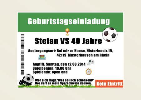 einladungskarten geburtstag fussball einladung