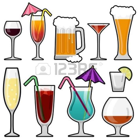 mixed drink clipart black and drinking alcohol clipart clipart suggest