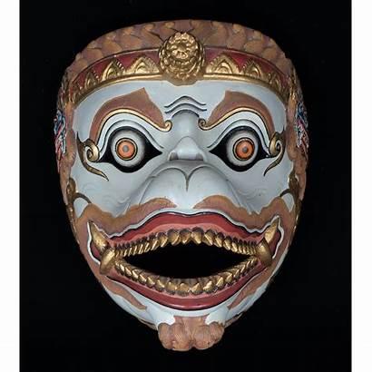 Hanuman Java Mask Face Javanese