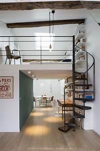 Studio Mezzanine Paris : best 25 mezzanine bedroom ideas on pinterest mezzanine ~ Zukunftsfamilie.com Idées de Décoration