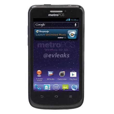 metro pcs phone new zte avid for metro pcs android 4g lte smartphone
