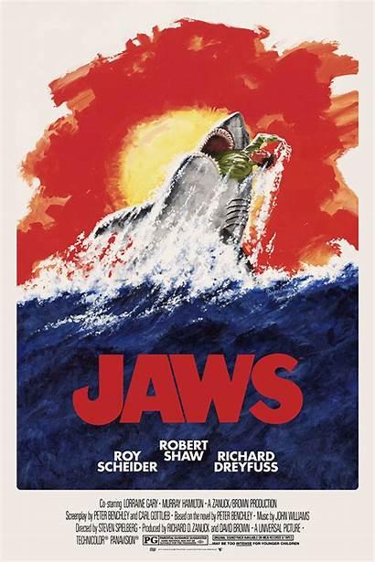 Jaws Poster Movie Alternative Posters Amity Island