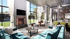 Le style art deco qui respire le romantisme dans linterieur for Interior estilo art deco