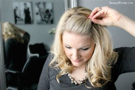 Side Bang Pin BackUsing Just 1 Bobby Pin {Video}