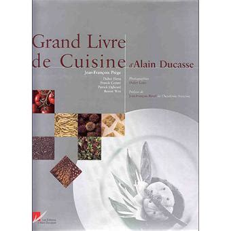 grand livre de cuisine alain ducasse rar