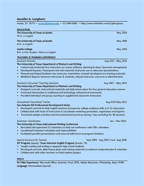 Ut Exle Resume by What S A Resume Cv Title Resumes Cv
