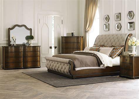 upholstered bedroom set cotswold upholstered sleigh bedroom set 545 br qsl room