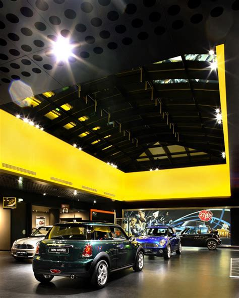 bmw showroom design bmw mini showroom by plajer franz berlin germany