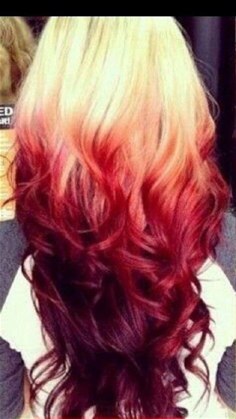 Best 25 Blood Red Hair Ideas On Pinterest Dark Red Hair