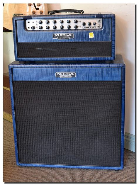 mesa boogie lone star head and cabinet 2009 www 12fret com