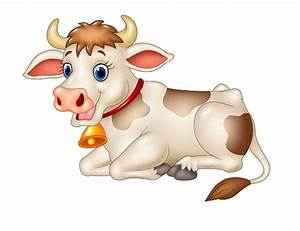 Beautiful cow cartoon vector | mucche | Pinterest | Cow ...