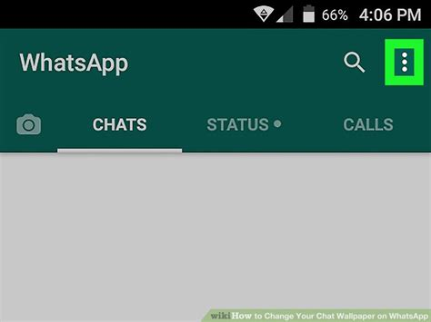 How To Change Your Chat Wallpaper On Whatsapp (with Pictures