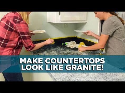 painting kitchen countertops    granite youtube