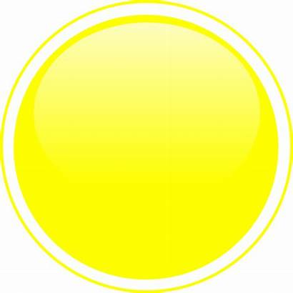 Circle Yellow Button Glossy Clker Clip Clipart