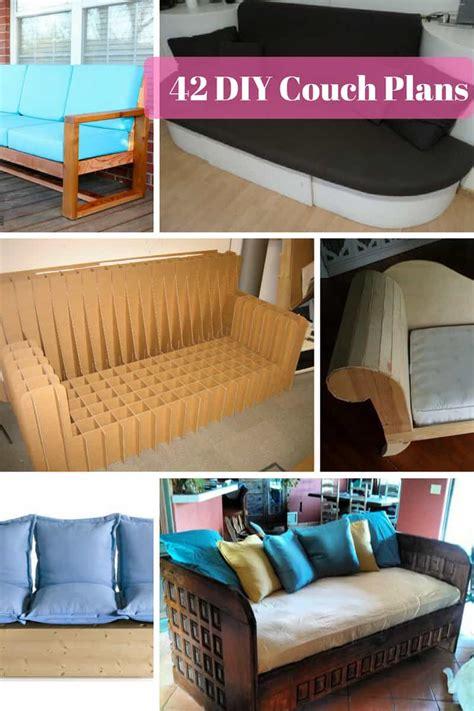 diy sofa plans  instructions mymydiy