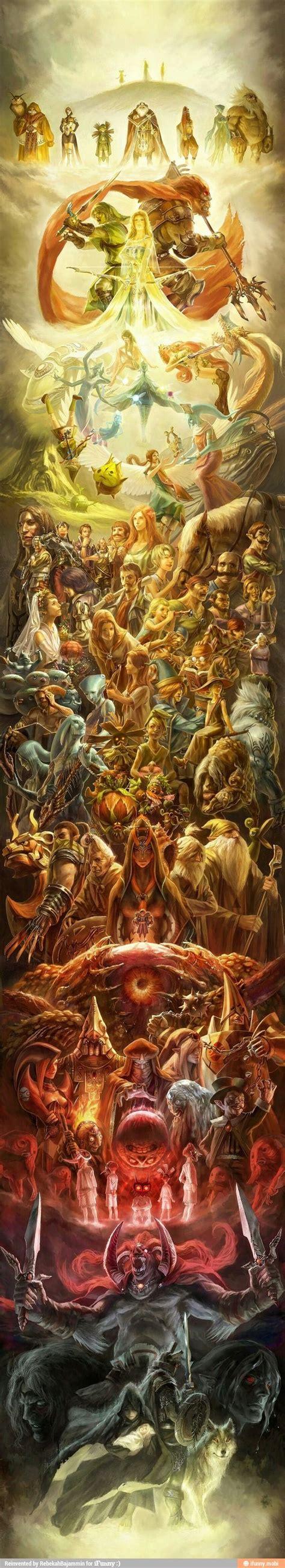 Most Epic Legend Of Zelda Fanart Of All Time Legend Of