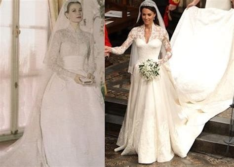 Kates Wedding Dress : Grace Kelly Vs Kate Middleton's Wedding Dress