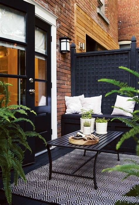 terrasse design 33 awesome small terrace design ideas digsdigs
