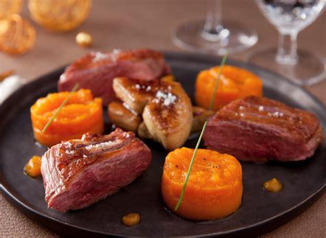 cuisiner magret de canard a la poele recette magret de canard et foie gras poele vichy