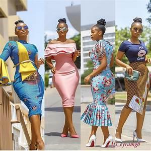 Photos: Twelve 2018 Fashion Trends With Model Eyram ...