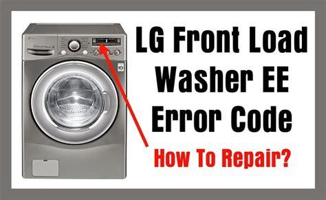 Lg Front Load Washer Ee Error Code