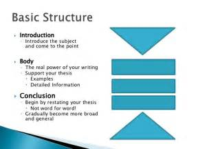 Research Paper Introduction Conclusion Structure