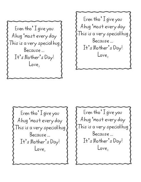 mothers day poems for preschoolers grandparents day kindergarten nana 742