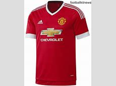 New Manchester United Home Kit 1516 Man Utd Adidas Home